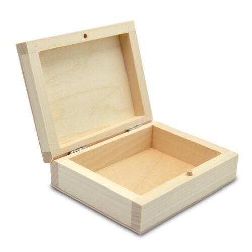 Holzbox für Karten Kartenetui Kartenbox Etui für KartenTaille HolzSchachtel Box