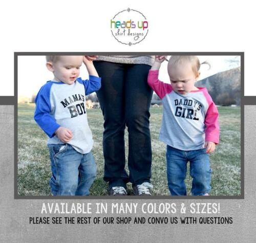 Twin Boy Girl Toddler Baby Shirts Mama/'s Boy Daddy/'s Girl Gift for Twins Trendy