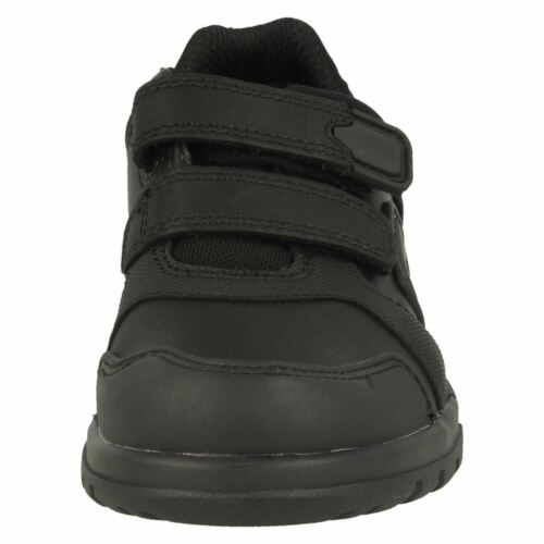 INFANTS BOYS CLARKS LEATHER RIPTAPE STRAP CASUAL SCHOOL SHOES BLAKE STREET SIZE