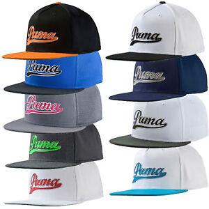 cbbe6c4dee8 Puma Golf Script Snapback Adjustable Cap Hat - Multiple Colors OSFM ...