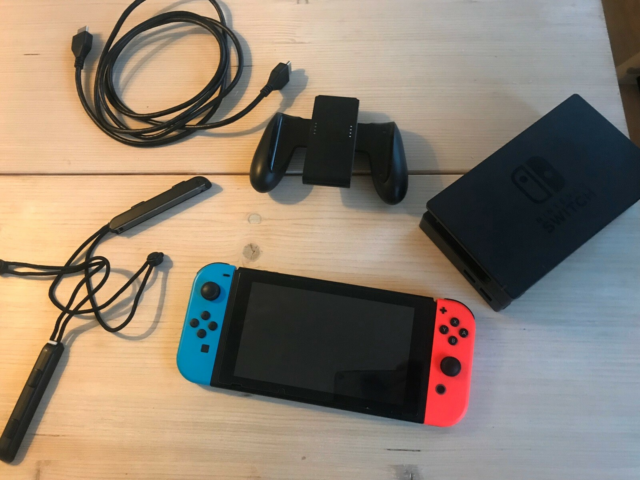 Nintendo Switch, God, Nintendo switch. Enkelte brugs…