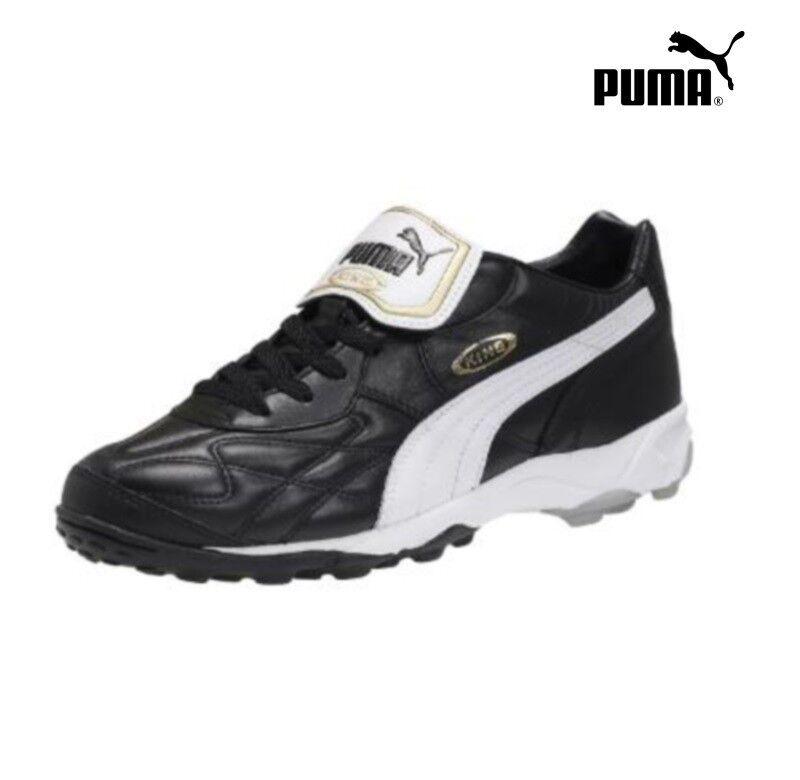 PUMA King tua portata TT TURF Trainers [170 Multi camme Scarpa Nero/Bianco/Oro [170 Trainers 119] cde073