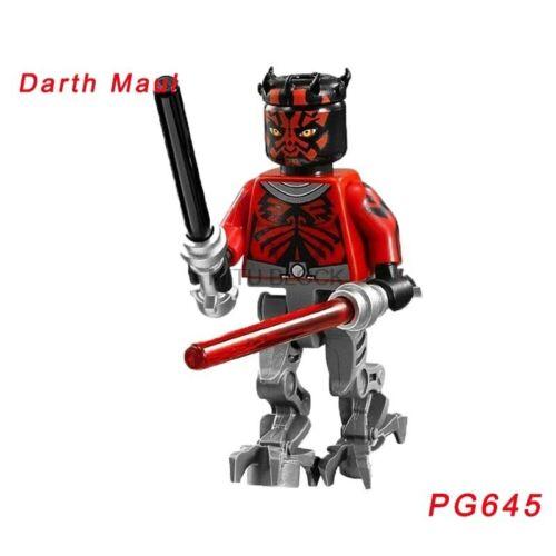 Star Wars mini personaje figuras Leia Luke Jabba padme Jedi Obi Wan Yoda han coleccionar