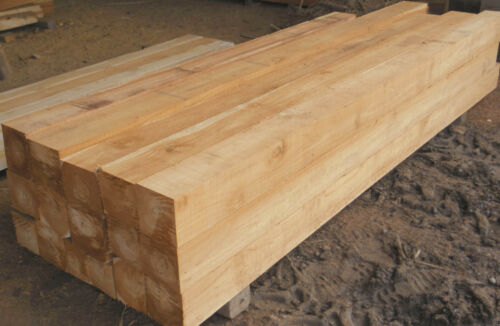 Squared Teak Post 48 inches long x 4 inches wide x 4 inches thick solid Teak