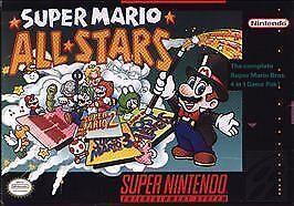Super Mario All Stars Super Nintendo Entertainment System 1993 For Sale Online Ebay