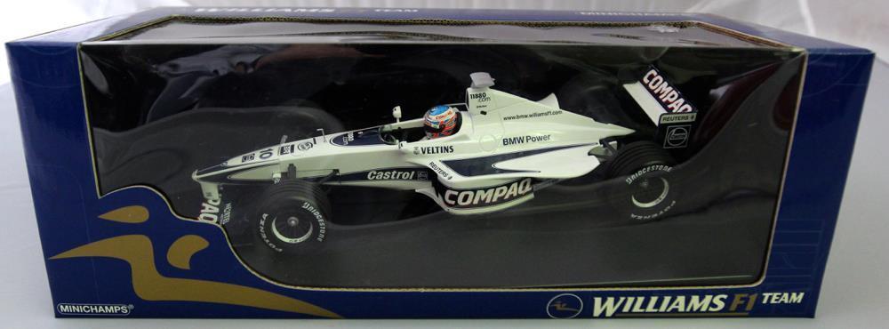 Minichamps 1/18 Scale 180-000080 Williams F1 Promotional ShowCar J. Button 2000