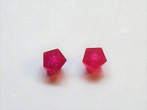 Helmets Playmobil Dwarf 2 X Attachment Crystal Large Pink Glitter For Sceptre