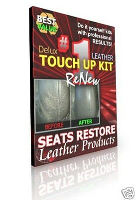 BMW - DARK SILVER GRAY Leather Seat Color TOUCH UP KITS - BMW Color Code LCAD
