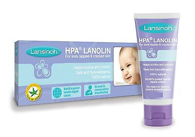 Lansinoh HPA Cream for Sore Nipples & Cracked Skin - Fast Ship - Great Price