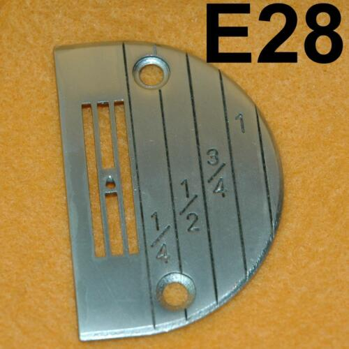 1 Industrial Sewing Machine Needle Plate Juki Brother Singer 147150lg E14~E22