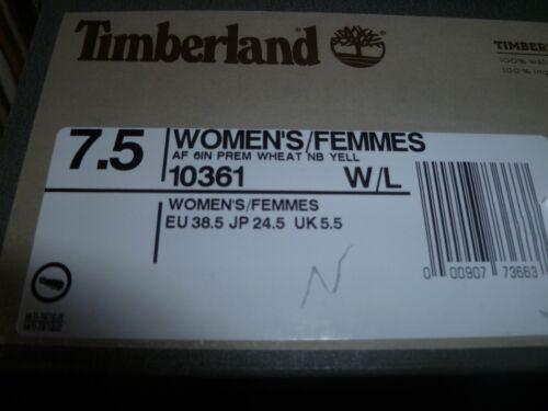 5 blé po 6 taille Bottes Premium Timberland femmes pour 5 wIIq8RP