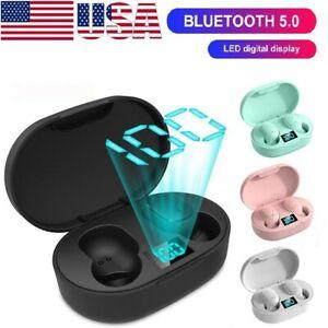 Bluetooth 5.0 Mini Headset TWS Wireless Earphones Stereo Headphones Earbuds 2021