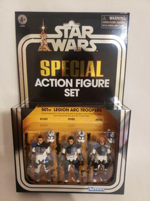 Star Wars Vintage Collection 501st Legion ARC Trooper Special Action Figure Set