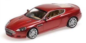 Modèle Aston Martin Db9 2009 rouge métallisé au 1/43 minichamps