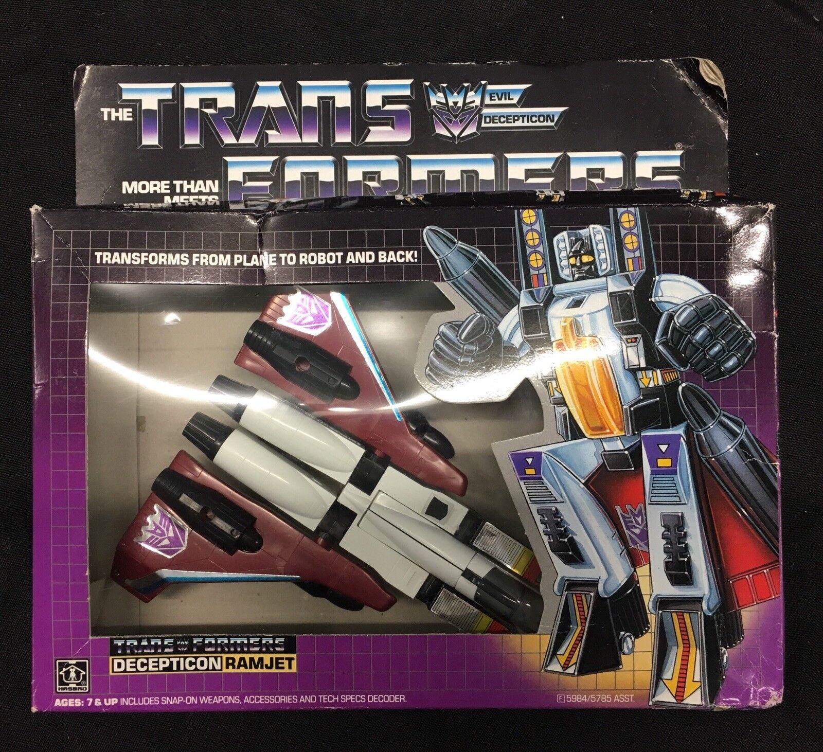 Hasbro Transformers - Decepticon Ramjet - 1985 G1