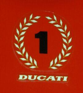 DUCATI-916-FUEL-TANK-WREATH-NUMBER-1-DECAL