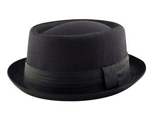 Men/'s Heisenberg Breaking Bad Pork Pie Classic Textured Hat Cap Straw Porkpie