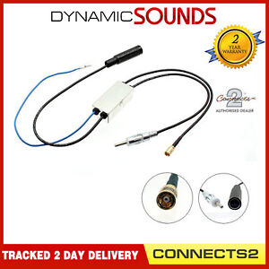 DAB-Radio-Car-Stereos-Aerial-Splitter-Antenna-for-Sony-amp-JVC-Blaupunkt-Headunits