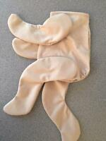 Beige Or White Reborn Doll Body (onesie Style) - Only Need Head & Body Stuffing