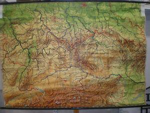 Mittelgebirge Deutschland Karte.Details Zu Schulwandkarte Wandkarte Map Karte 209x148cm Deutsche Mittelgebirge Deutschland
