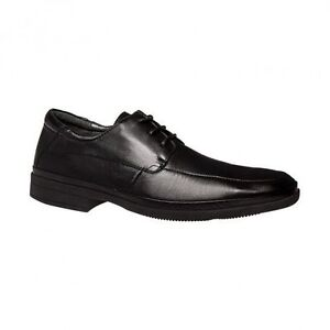 MENS-HUSH-PUPPIES-TWIST-MEN-S-LEATHER-WORK-BLACK-LACE-UP-FORMAL-DRESS-SHOES