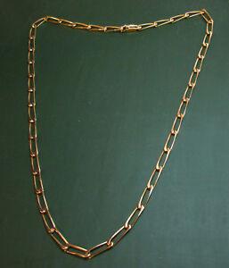 viele Stile Online bestellen Durchsuchen Sie die neuesten Kollektionen Details about Authentic Cartier 750er TANK-GOLD CHAIN * 70 cm * 58,75 G  Mens Necklace- show original title
