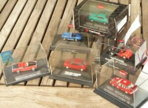 Herpa-Konvolut-1-87-H0-6-Stueck-PKW-Mazda-323F-AC-Cobra-Borgward-Scirocco-Porsche