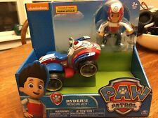Paw Patrol 20067022 Ryder/'s Rescue ATV Vechicle and Figure