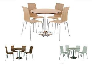 soho contemporary round dining table and 4 chairs choice of 3 rh ebay co uk Modern Round Dining Table Modern Dining Tables and Chairs