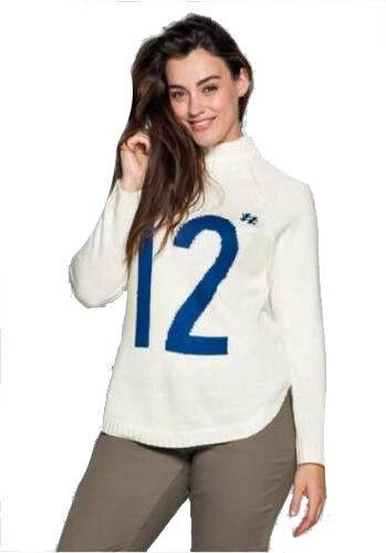 52//54 creme weiß 869076 NEU Casual Pullover Sheego Gr