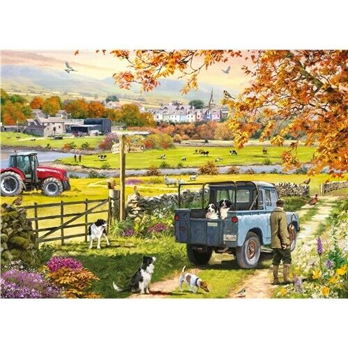 Otter House Countryside Morning 1000 piece nostalgic jigsaw puzzle NEW