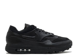 new style 4221a f8846 Details about 2018 Nike Air Max 1 Flyknit Royal SZ 10.5 Triple Black  Anthracite Lab 923005-001
