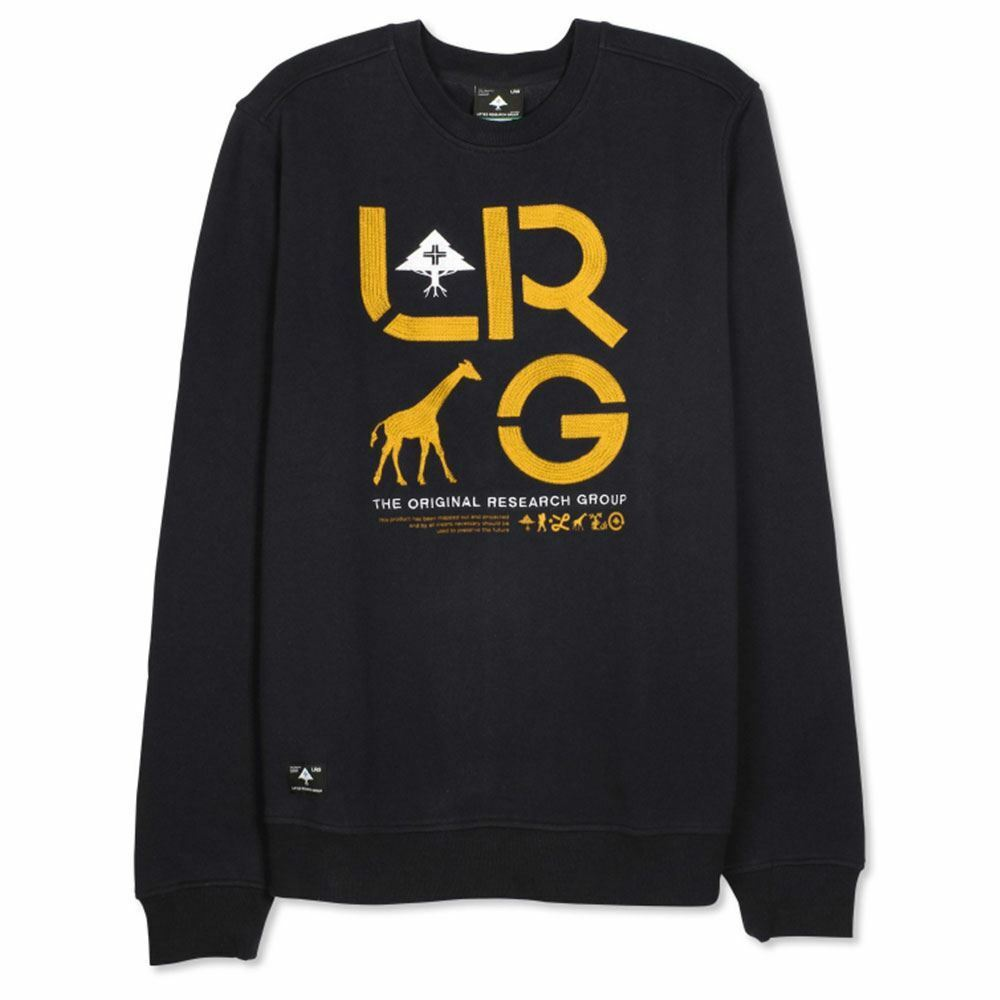 Lrg Lrg Lrg RC Two Sweatshirt Schwarz c98664