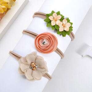 Beauty-3Pcs-Baby-Girls-Infant-Toddler-Flower-Bow-Headband-Hair-Band-Accessories