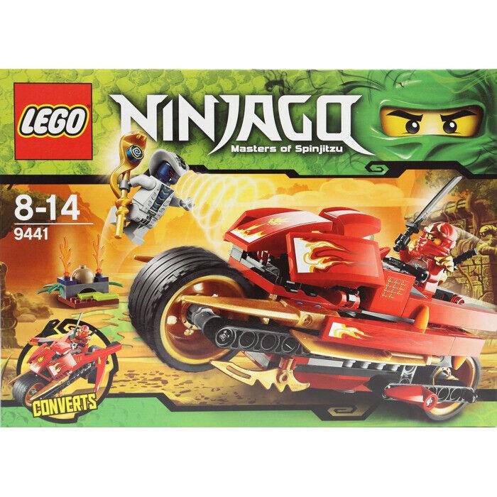 LEGO Ninjago Kai's Kai's Kai's Blade Cycle  9441 f04aad