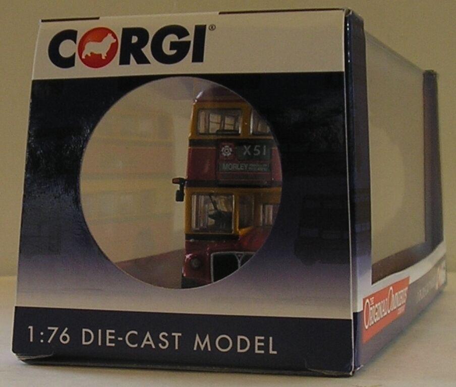 Corgi OM46308A Routemaster Negro Original ómnibus Príncipe X51 Morley Morley Morley fuente St 83b239