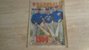 1994-Toronto-Sun-Baseball-Special-Section-Toronto-Blue-Jays-MLB
