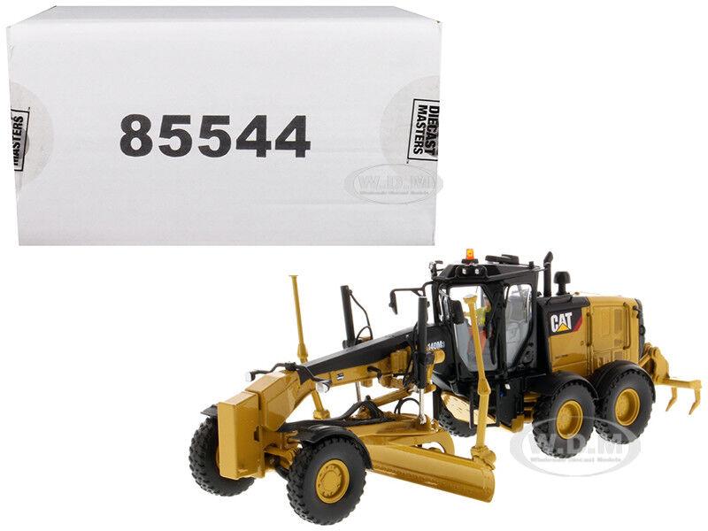 CAT CATERPILLAR 140M3 MOTOR GRADER 1 50 DIECAST MODEL BY DIECAST MASTERS 85544