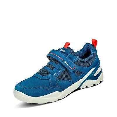ecco Jungen Halbschuhe Sneaker Schlupfschuhe Freizeit Schuhe royalblauorange | eBay