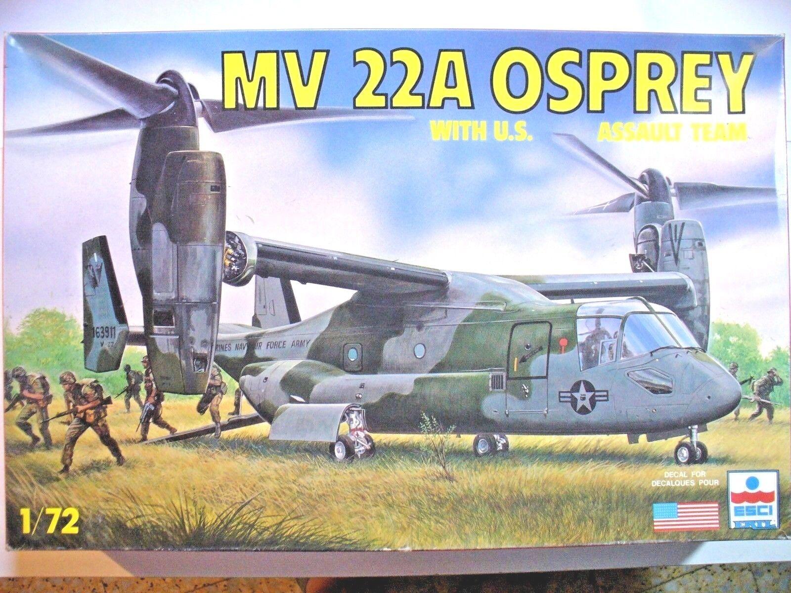 MV 22A OSPREY 1 72  ESCI scatola 40x26x7 cm