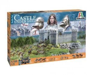 Italeri-1-72-100-YEARS-039-WA-Castle-under-siege-Nr-510006185