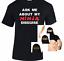 Ask-Me-About-My-NINJA-Disguise-Boys-T-shirt-Men-Eyes-Flip-Tee-Custom-Skin-tone miniature 1
