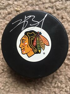 Kyle-Beach-Signed-Autographed-Chicago-Blackhawks-Official-NHL-Hockey-Puck-AUTO