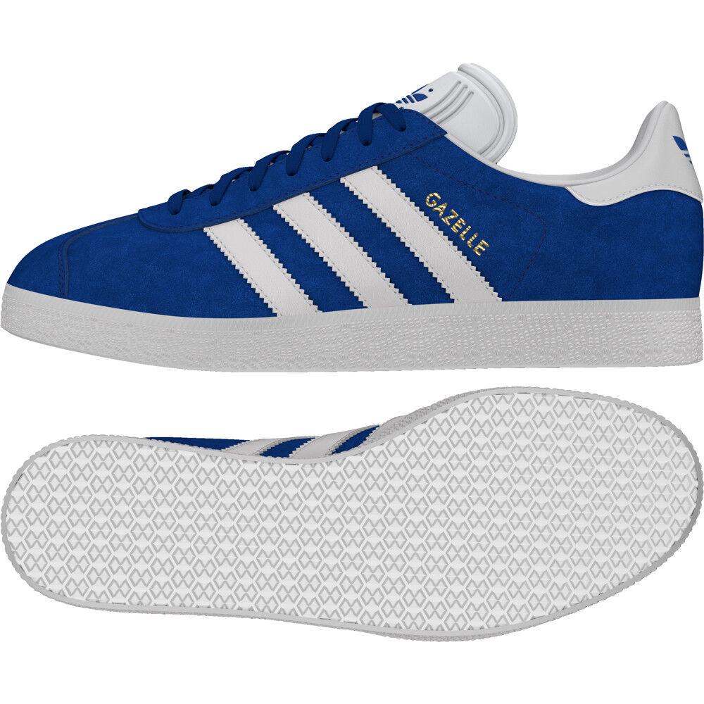 Original New Og Adidas En Daim Gazelle Femme's Baskets Cuir Et 53qA4RjL