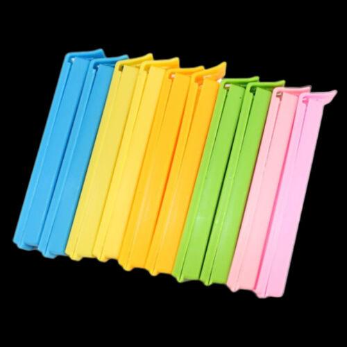 10*Sealer Dichtklemme Lebensmittel-Clips Küche Snacks Werkzeug Klemme 11cm Neu
