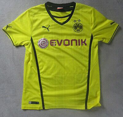 #18 - Bvb Borussia Dortmund Trikot - Heim-trikot 2013/2014 - Puma - Größe L Hochglanzpoliert