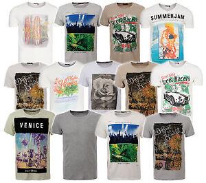 NEU-GLO-STORY-Shirt-Herren-T-Shirt-Freizeit-Shirt-Rundhals-T-Shirt-V-Neck-Shirt