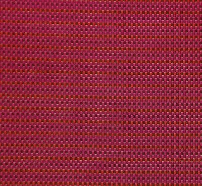"WAVERLY GIMMIE CHECK FUSCHIA PURPLE RED JACQUARD SATEEN FABRIC BY THE YARD 52""W"