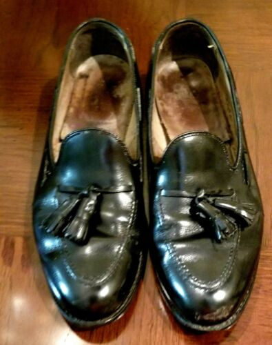 Men's Alden's slip on with tassel black Size 9A/C