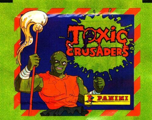 Toxic Crusaders Sticker Trading Packs 5